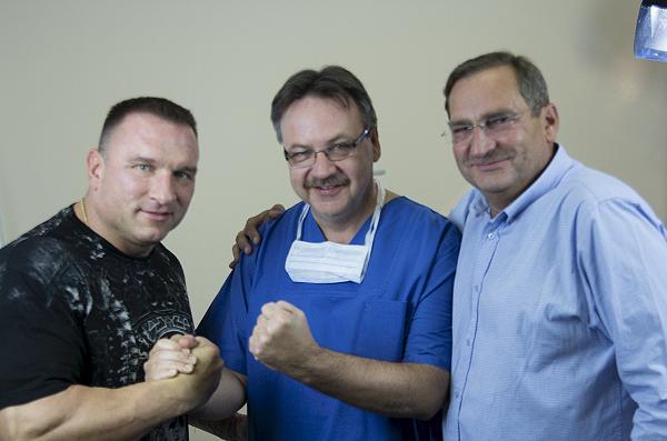 Przeszczep włosów z Jarosławem Dymkiem